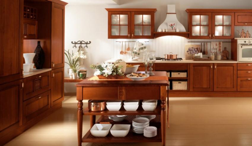 Farm ciliegio cucina tradizionale essegi arredo for Cucina tradizionale